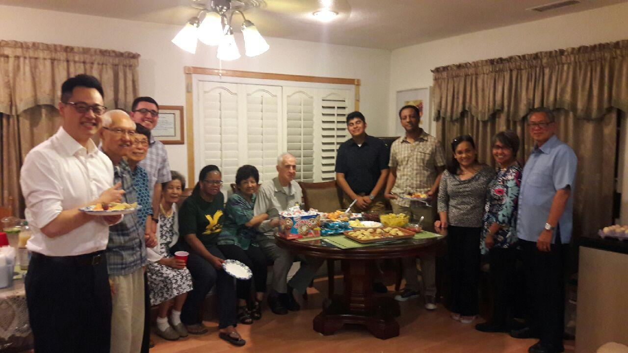 Matt Fagundo home meeting August 2018